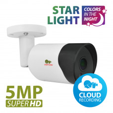 IPO-5SP - 5.0MP IP camera Starlight 1.0 Cloud