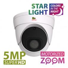 IPD-VF5MP-IR AF Starlight SH 5.0MP IP Varifocal camera
