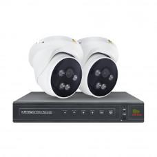 5MP 2 Camera 24Hr Starlight IP Kit1
