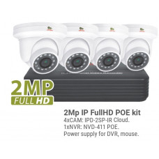 2MP 4 Camera IP Kit1