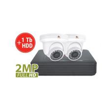 2MP 2 Camera AHD Kit1