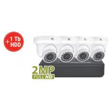 2MP 4 Camera AHD Kit1