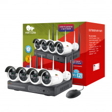 Wi-Fi set 2.0MP Outdoor IP-38 4xCAM + 1xNVR (v2.0 8 Channel)