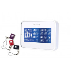 KP-160 PG2 LCD White Keypad with 3 Tags